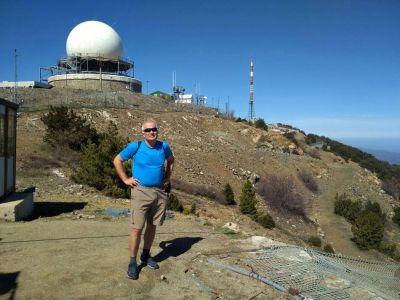 Radar na vrchole Olympu