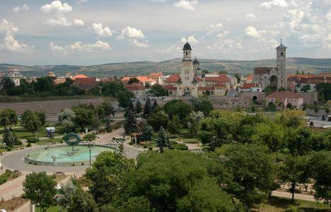 Centrum Alba Iulia v hviezdicovom opevnení