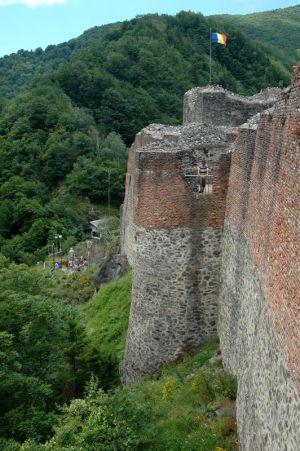 Citadela Poienari, sídlo Vlada III. Tepeša, grófa Drakulu