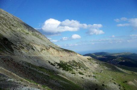Kamenné zosuvy pri Transalpine