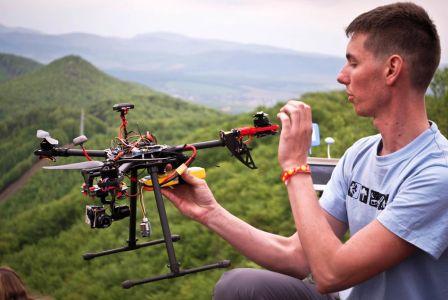 Skúška dronu