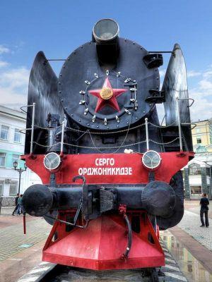Lokomotíva Sergo Ordzhonikidze, Krasnojarsk