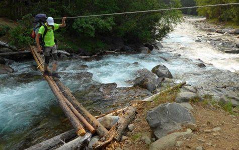Prekonávanie potoka