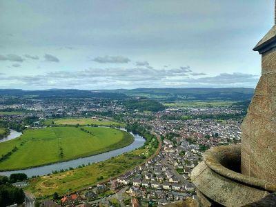 Výhľad z hradu Stirling