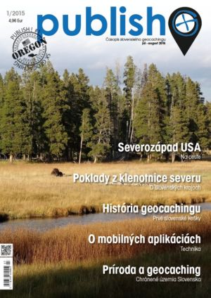 Časopis o geocachingu Publish číslo 2015/01