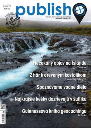 Časopis o geocachingu Publish číslo 2015/02