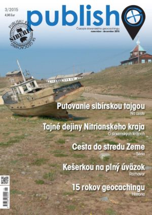 Časopis o geocachingu Publish číslo 2015/03
