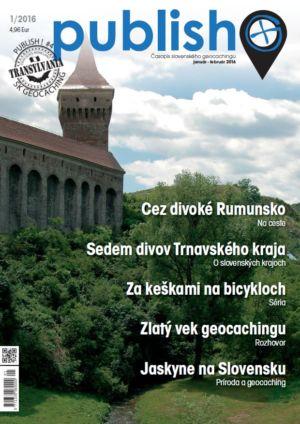 Časopis o geocachingu Publish číslo 2016/01
