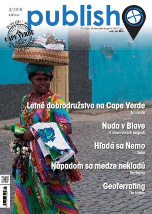 Časopis o geocachingu Publish číslo 2016/03