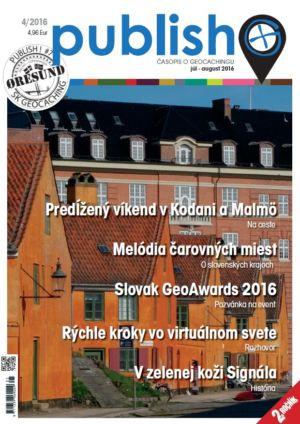Časopis o geocachingu Publish číslo 2016/04