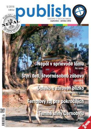 Časopis o geocachingu Publish číslo 2016/05