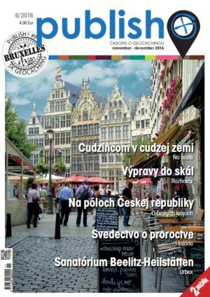 Časopis o geocachingu Publish číslo 2016/06