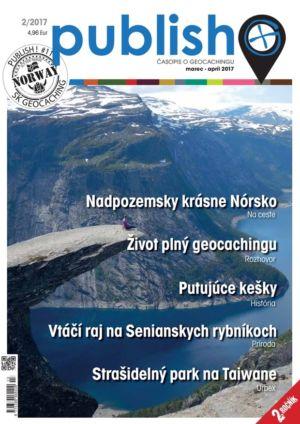 Časopis o geocachingu Publish číslo 2017/02