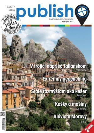 Časopis o geocachingu Publish číslo 2017/03