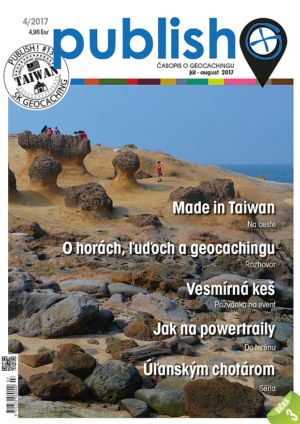 Časopis o geocachingu Publish číslo 2017/04