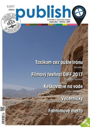 Časopis o geocachingu Publish číslo 2017/05