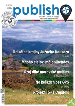 Časopis o geocachingu Publish číslo 2017/06