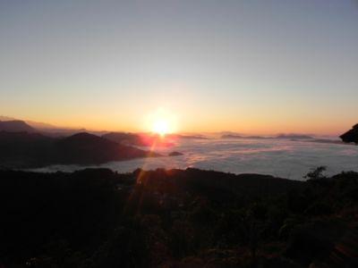 Východ slnka z kopca Sarangkot