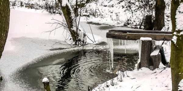 Voda v zime