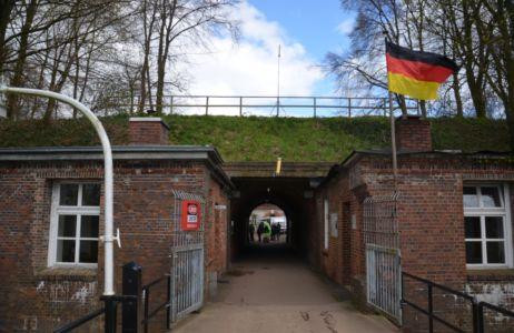 Vstup do pevnosti Grauerort