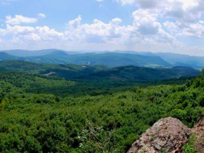 Výhľad z Kmotrinej skaly