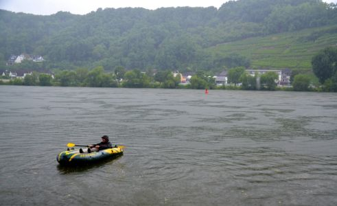 Keška uprostred Dunaja