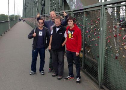 Zamknutý most v Kolíne