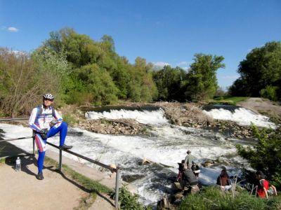 V plnej cyklistickej pri Zúgovských vodopádoch