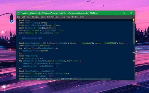 Kód overovacieho skriptu