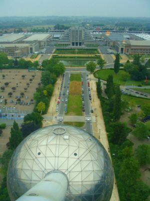 Výhľad z monumentálneho Atómia | Foto: schevka