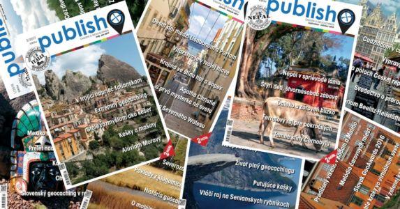 Časopis o geocachingu Publish!, staršie čísla