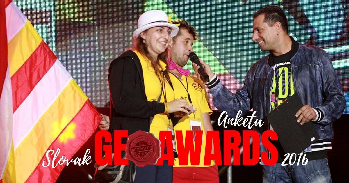 Zaujímavosti: Anketa Slovak GeoAwards 2016