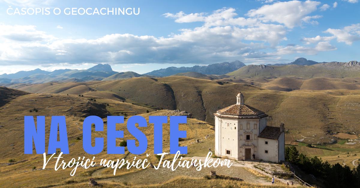 Na ceste, Taliansko, Gilrond, letné prázdniny, dovolenka, cestovanie