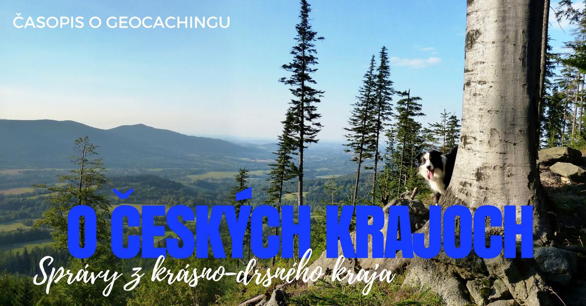 O českých krajoch, Moravsko-sliezsky kraj, geocaching