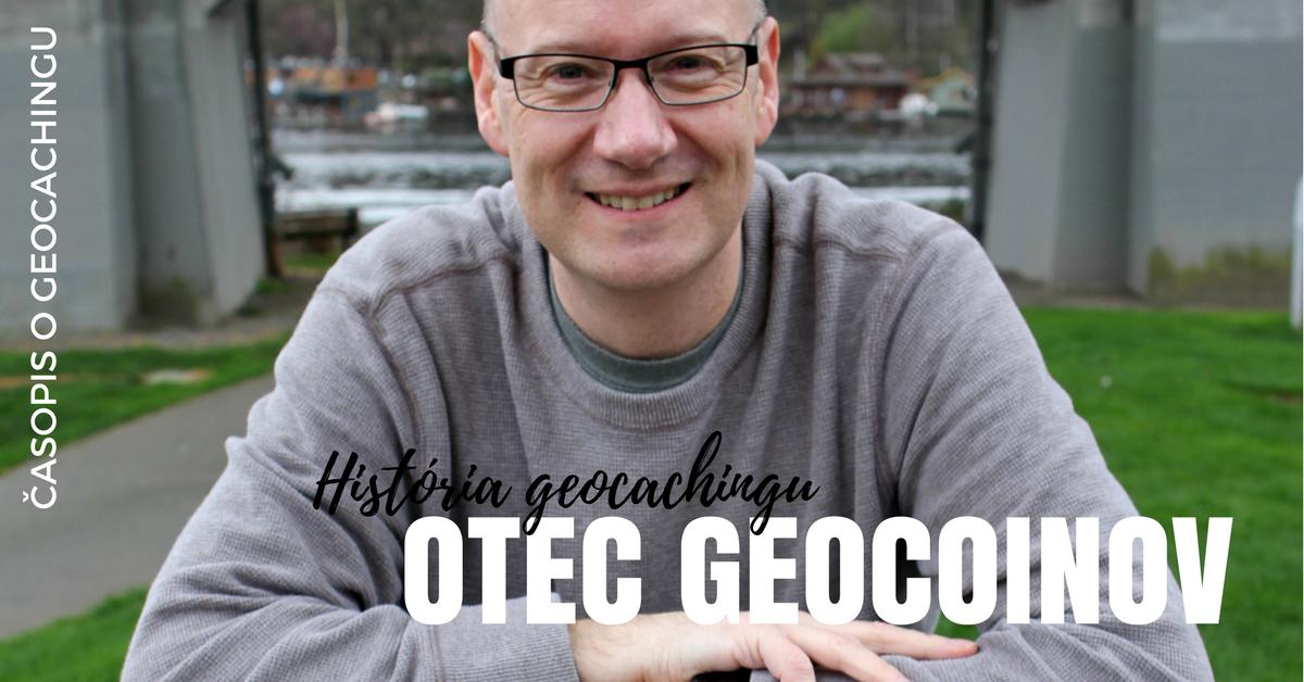História geocachingu, Otec geocoinov, geocaching