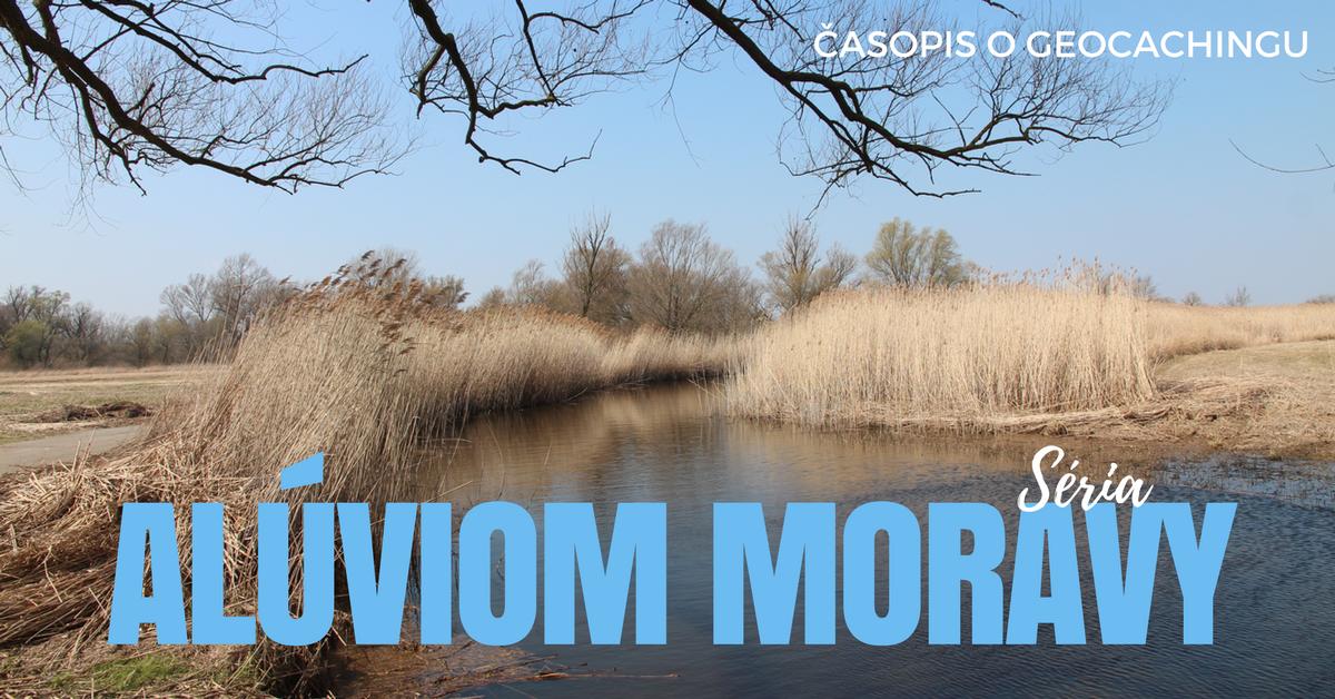 Séria: Alúviom Moravy, geocaching, kešky