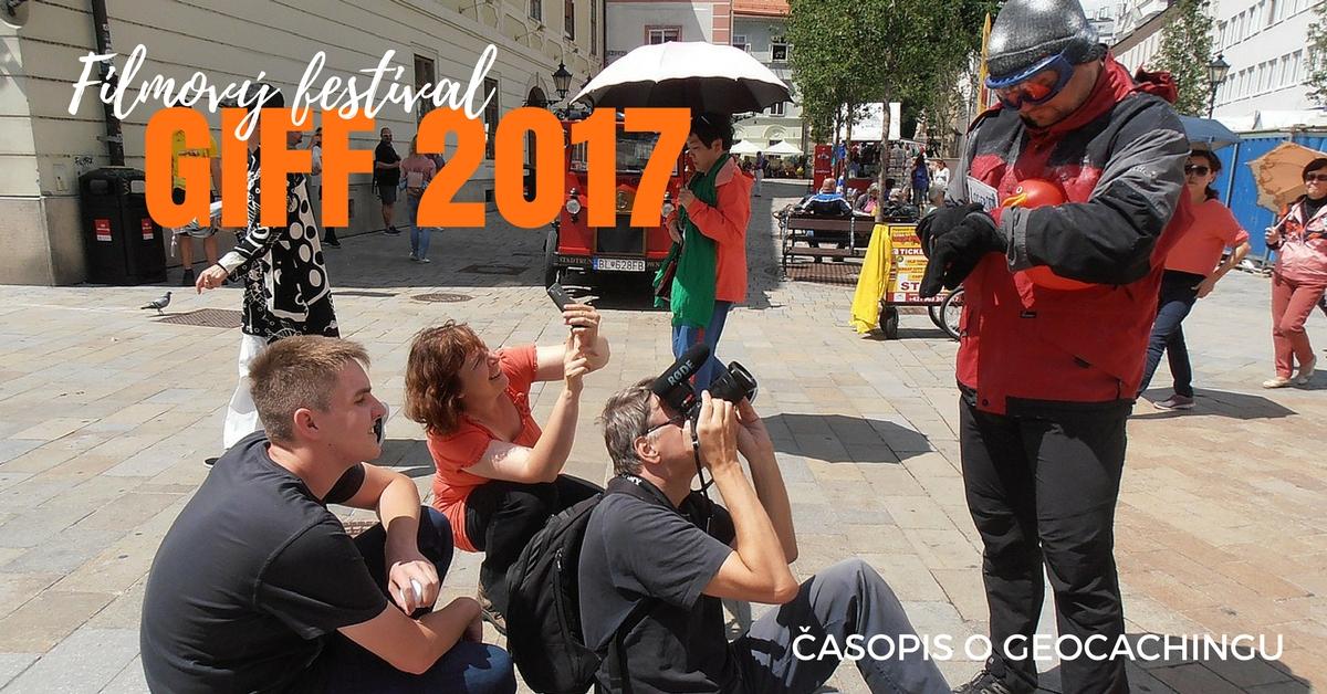 GIFF, film, geocaching, kešky, keškovanie, hľadanie, turistika, výlety, zábava, cestovanie čaopis o geocachingu