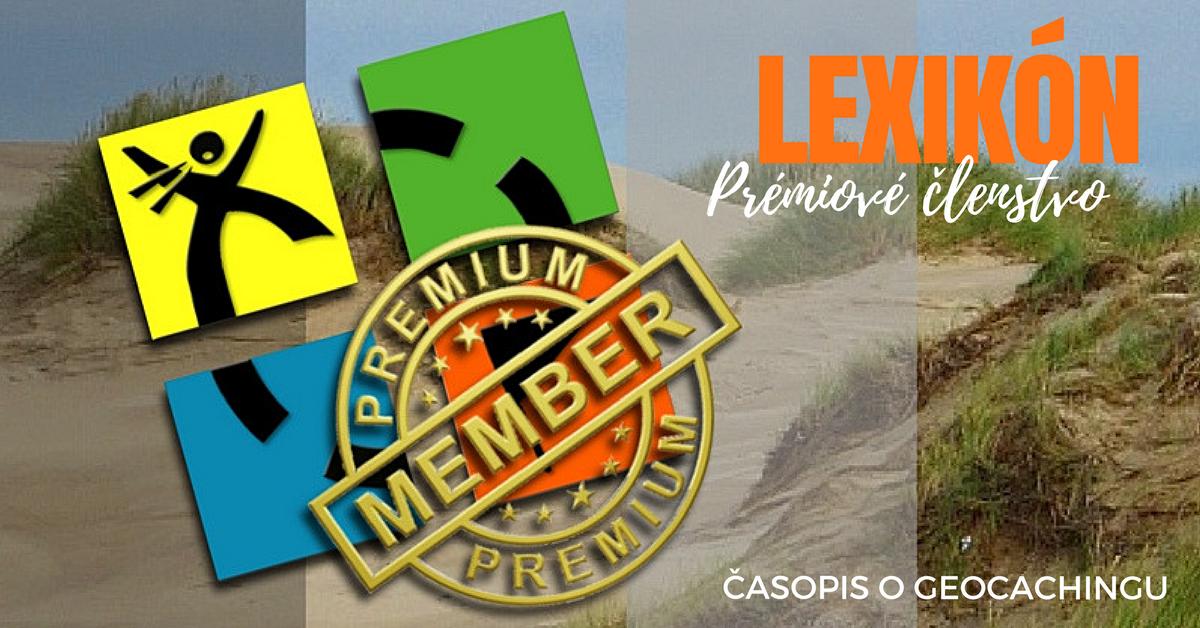 Lexikón, prémiové členstvo, geocaching