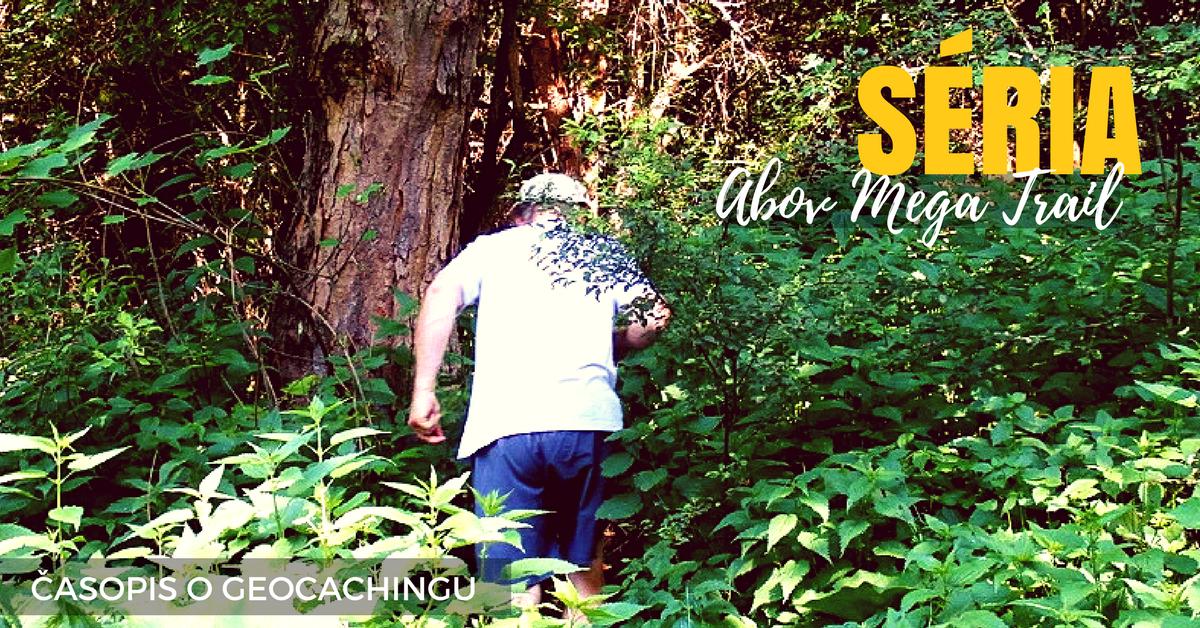 séria, geocaching, kešky, Abov Mega Trail