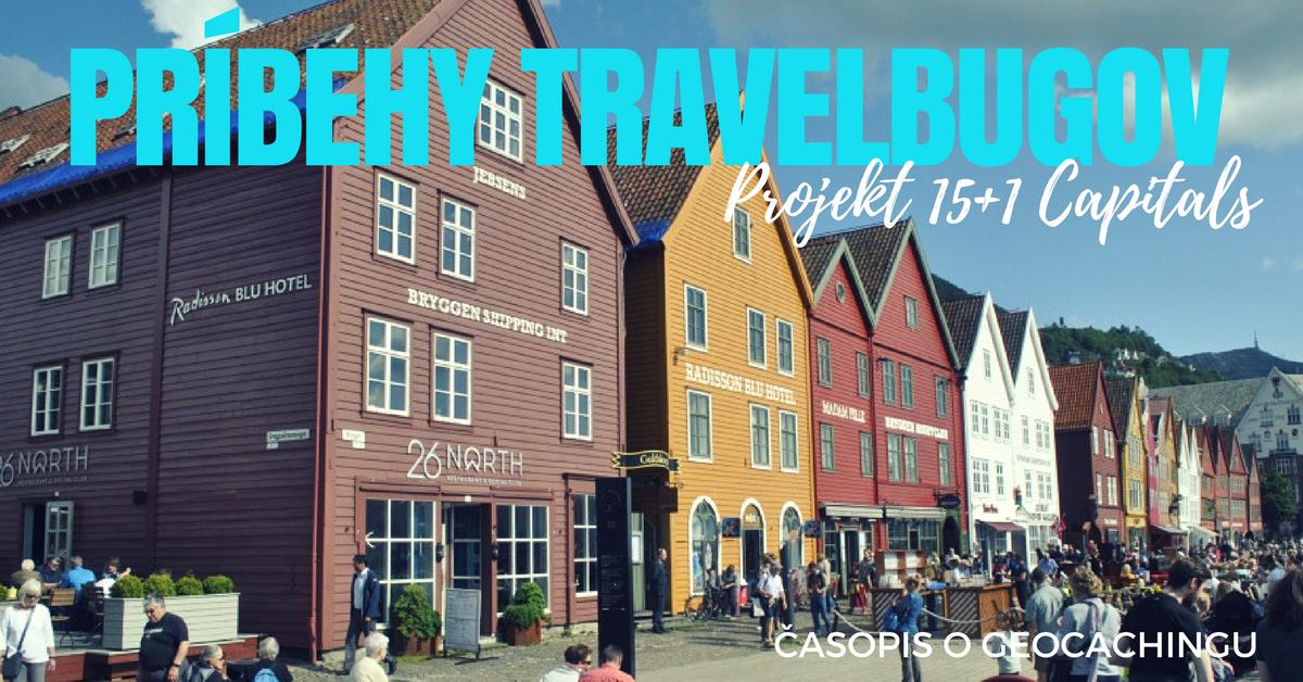 príbehy travelbugov, 15+1 capitals, geocaching cestovanie