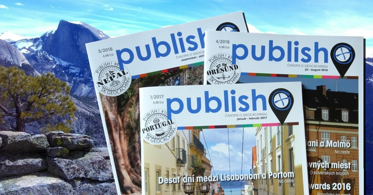 Časopis o geocachingu Publish!