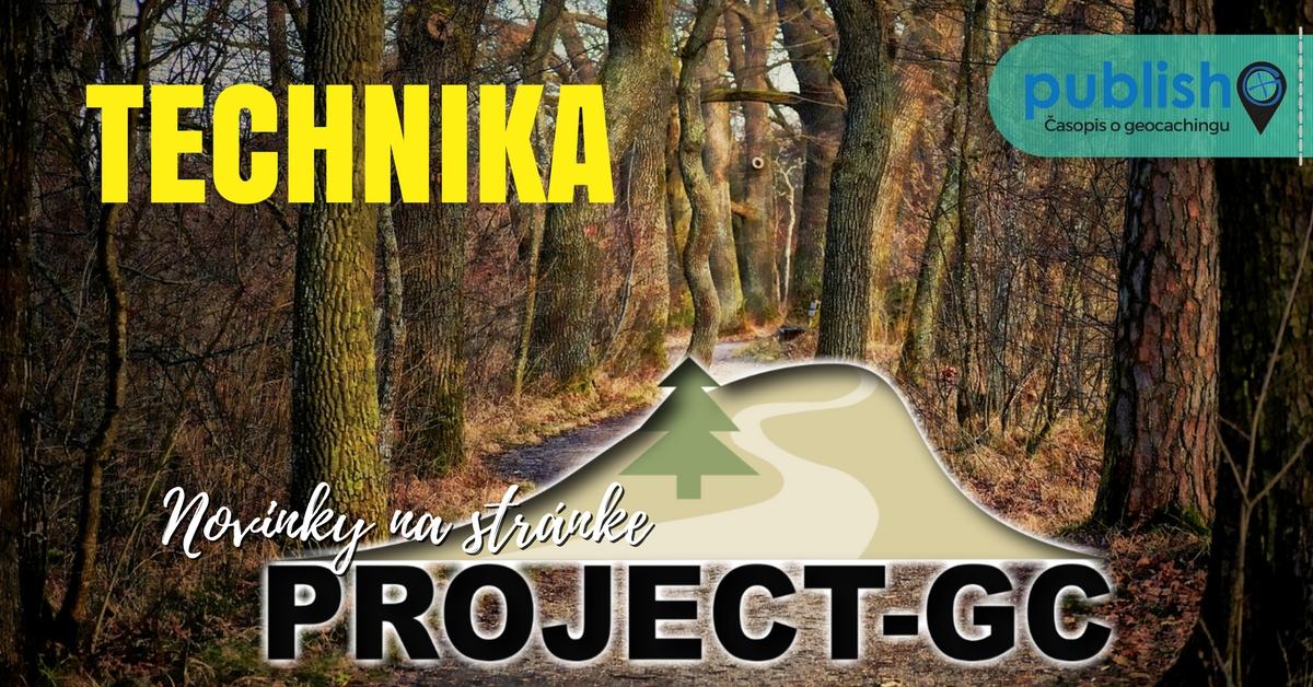 Novinky na stránke Project-GC