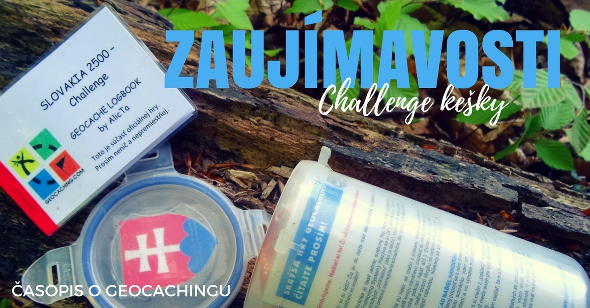 Zaujímavosti: Challenge kešky