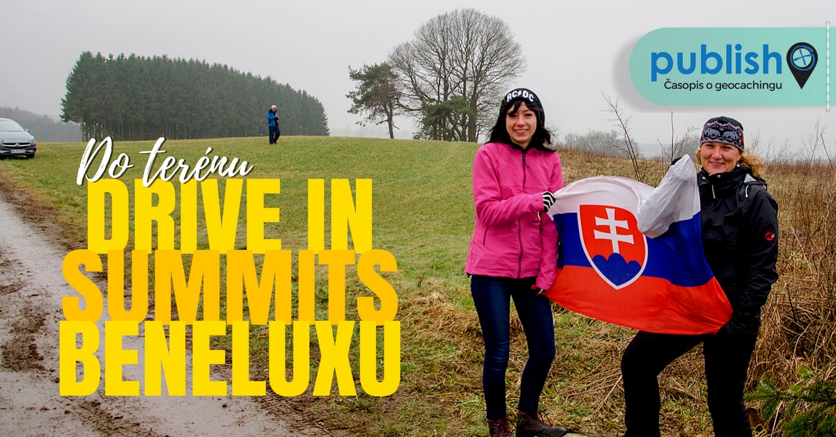 Do terénu: Drive in summits Beneluxu