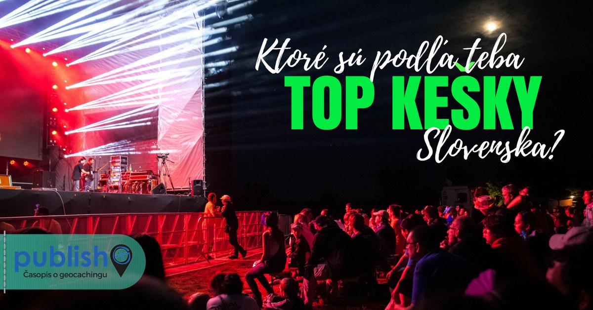 Slovak GeoAwards 2018: Ktoré sú podľa teba TOP kešky Slovenska?