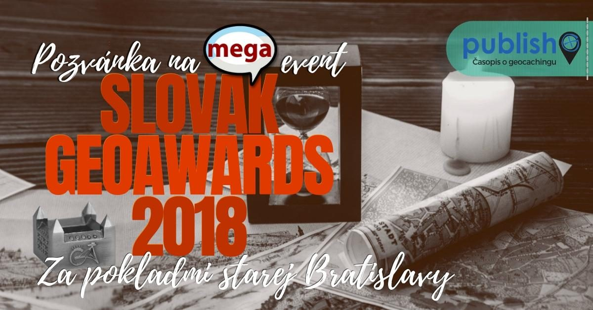 Pozvánka na megaevent: Slovak GeoAwards 2018