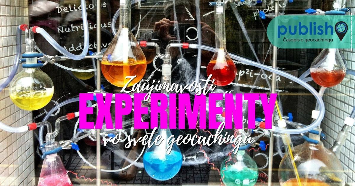 Zaujímavosti: LAB kešky: Experimenty vo svete geocachingu